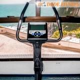 bicicleta ergométrica vertical para casa Parque Dom Pedro